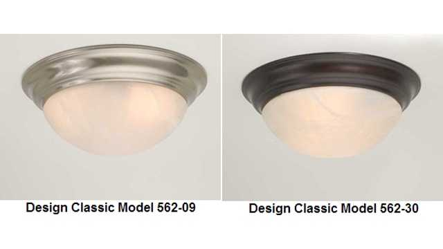 Ceiling-Mounted Light Fixture
