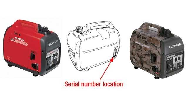 Honda portable generator recall image