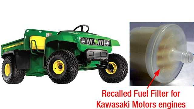 John Deere utility vehicle recall image
