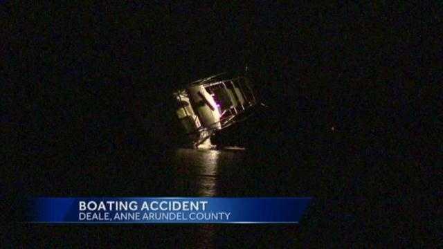 Deale boat crash