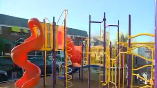 Park Heights playground built by volunteers