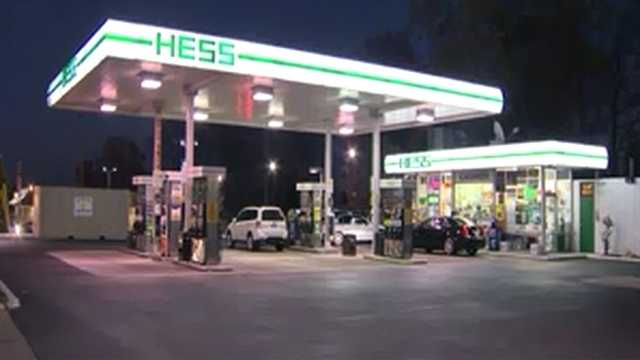 Hess gas station at 1613 E. Joppa Road