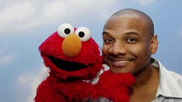 Kevin Clash with his beloved puppet, Elmo