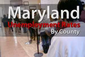 Maryland's non-seasonally adjusted employment rate dropped  0.4 percent from October 2011 to October 2012. See unemployment rates county by county in our slideshow with the latest data from the Bureau of Labor Statistics.
