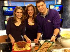 On Dec. 2, Ava Marie shares her recipe for Red and Green 'Christmas' Salsa, and Lowell Melser shares his recipe for Pumpkin Dessert Bars.
