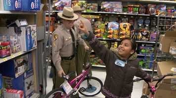 """""""We were all kids once, too. It brings back memories of when we walked through the toy store and picked stuff out when we were kids. So, it's an awesome opportunity,"""" Maryland State Police Capt. David Kloos said."""