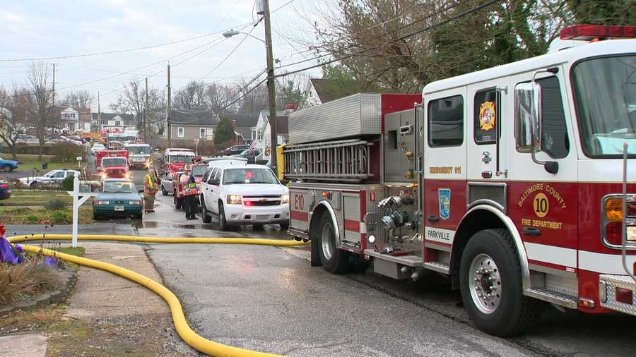 Firefighters were called to the 9600 block of Harding Avenue just before 7 a.m. Tuesday.