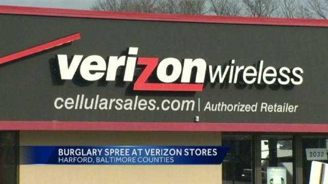 Verizon Store Buglarized