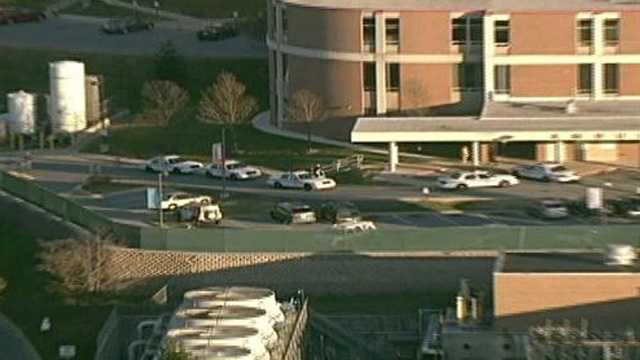 St. Joseph Medical Center chopper locator after police-involved shooting