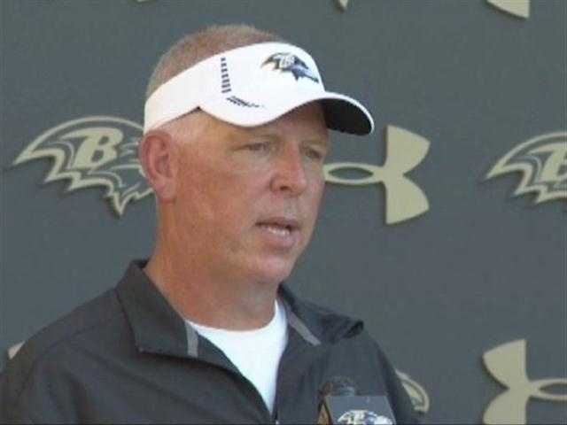 Cam Cameron coached his last game as offensive coordinator with the Baltimore Ravens on Sunday, Dec. 9. The team fired him the next day.