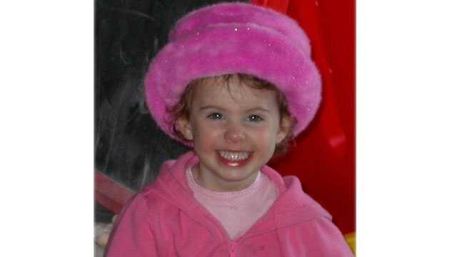Leah Crisco turns 12 on 12-12-12. She's pictured here at age 2.