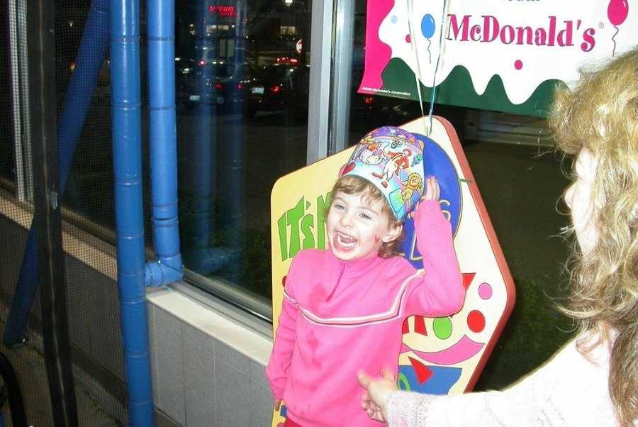 Leah Crisco turns 12 on 12-12-12. She's pictured here on her third birthday,