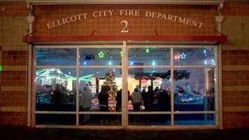 The Ellicott City Volunteer Fire Department's annual train garden display is up and running for those looking to get into the holiday spirit.
