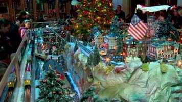 The train garden is open at varying times until Jan. 1.