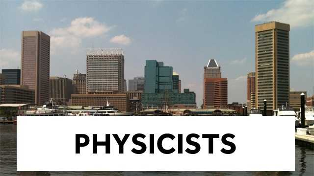12. Physicists - $111,780