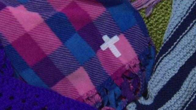 Prayers shawls are given to people in their times of need, including those affected by the deadly mass shooting at Sandy Hook Elementary School in Connecticut.