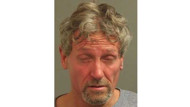 Police said the suspect, identified as Jerry Garett Piercy, 52, of Glen Burnie, was arrested and faces several charges after robbery attempts in Glen Burnie.