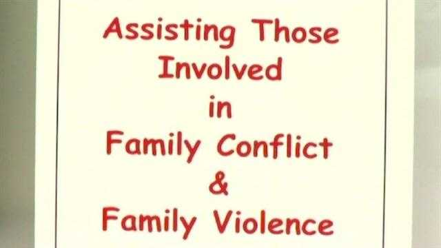 Instances of domestic violence can increase during the holidays.