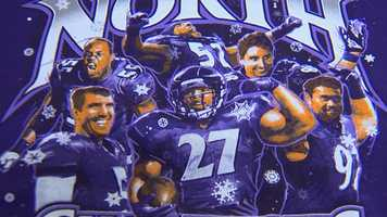 WBAL-TV 11 News reporter Lowell Melser caught up with one screen printer in Columbia that came up with a T-shirt to celebrate the Ravens' title.