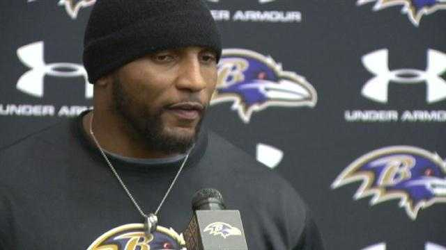 Ray Lewis - Announcing retirement