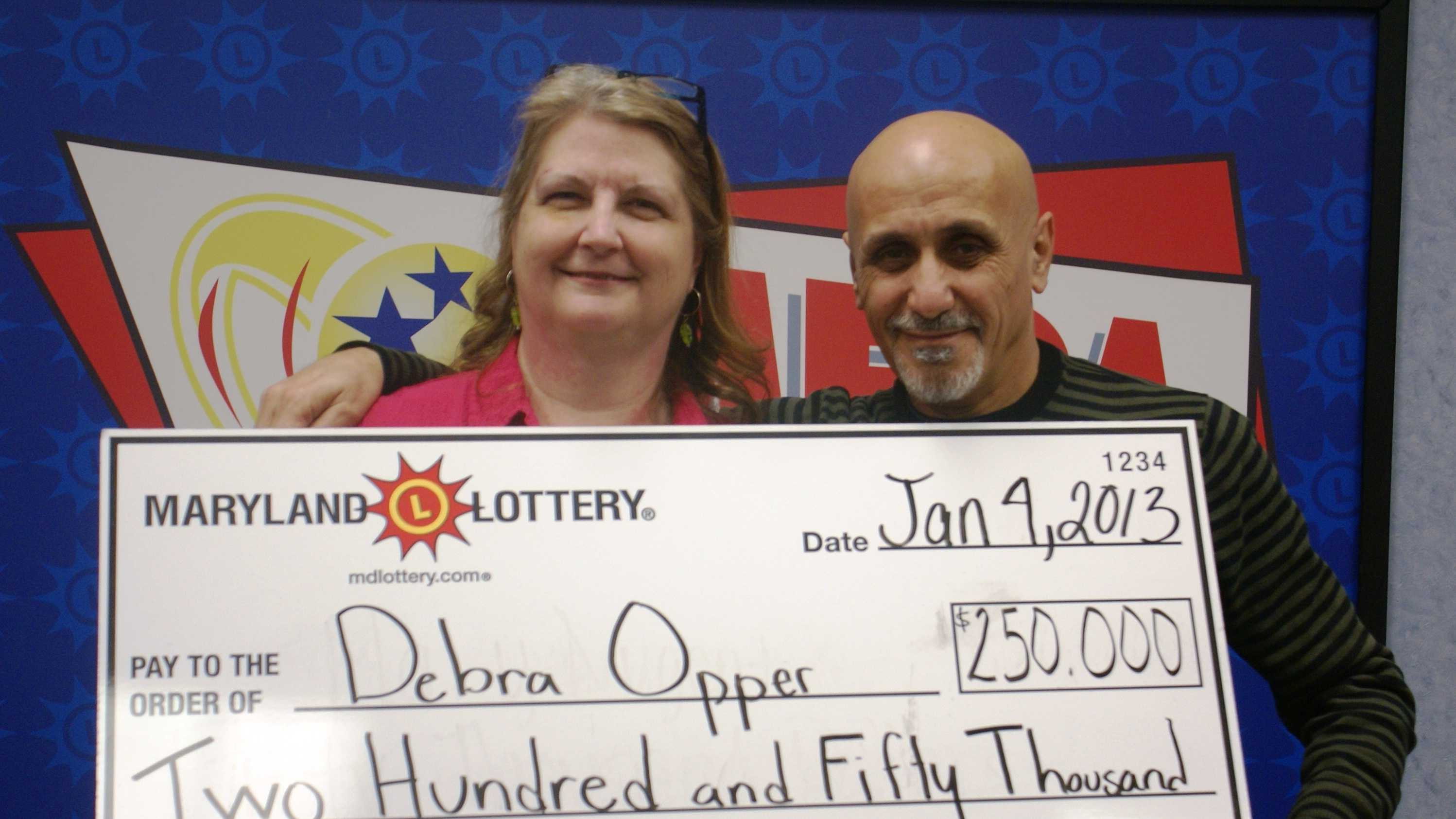An Owings Mills woman is $250,000 richer, Maryland Lottery officials said Friday.
