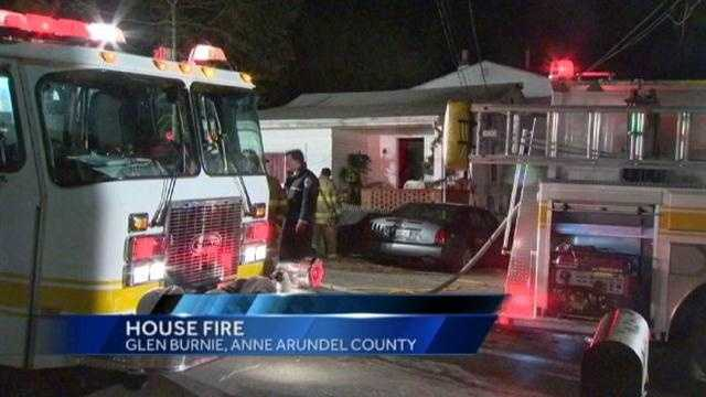 A 40-year-old woman who was critically hurt in a Glen Burnie house fire succumbs to her injuries.