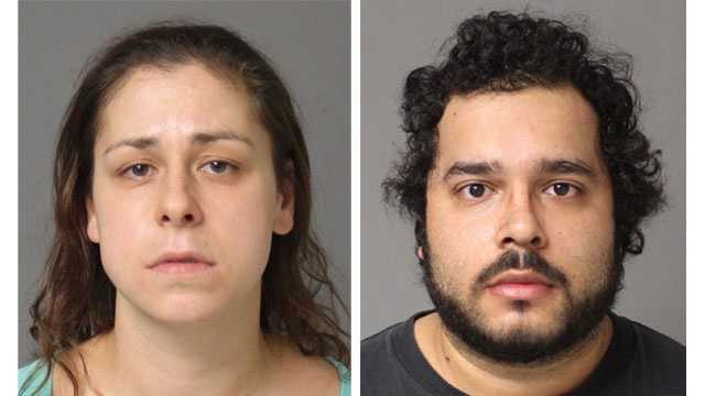 Police said Victoria Allison Boyer, 32, of Mitchellville, and Daniel Enrenrique Olaya, 29, of Bowie, were arrested and face drug-related charges following a traffic stop in Crofton.