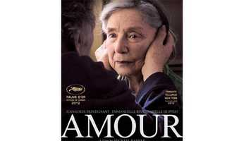"""Amour: A heartbreaking film that follows an old man caring for his dying wife. The performances from Emmanuelle Riva and Jean-Louis Trintignant are impeccable and the two have wonderful chemistry. As Anne's health slowly diminishes, it becomes all the more evident how strong Georges cares for his wife. Despite the sadness, the film's non-saccharine final moments are poetic and heartfelt. """"Amour"""" beautifully defines the meaning of love, and shows what it means to love another. """"Amour"""" is a film I will not soon forget. -- Connor Smith"""