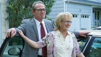 Hope Springs: The film was advertised as a goofy romantic comedy that one would watch at 3 a.m. while crying and eating a half-gallon of ice cream. But, at the heart, it's more a romantic drama filled with sporadic comedy. Thanks to a great script and amazing performances from Meryl Streep and Tommy Lee Jones, the film is a thoughtful contemplation on marriage and what happens after the spark disappears. This film is an under seen gem that I recommend to any married couple. Amazing stuff. -- Connor Smith