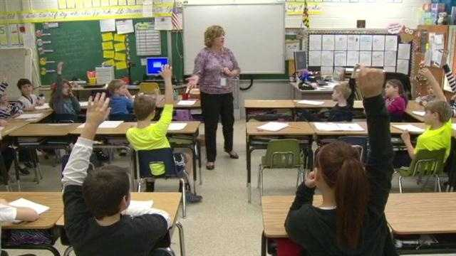 In Anne Arundel County, 45 teachers have become a nationally board-certified.