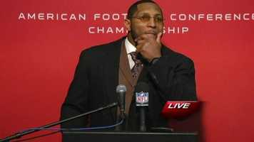 Ray Lewis reflects on the Ravens road to the Super Bowl.