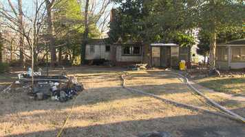 A family is without a home after a Tuesday morning fire engulfed their house in Arnold.