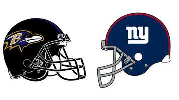 Dec. 23: The Ravens clinched a second-consecutive AFC North title when they defeated the defending Super Bowl champion Giants, 33-14, at M&T Bank Stadium. Baltimore dominated from beginning to end, producing its most yards of the season (533) while limiting New York to 186. The Ravens owned the time-of-possession battle (39:21 to 20:39) and third-down conversions, making 11 of 18 on offense and holding the Giants to 2-of-10. Behind a sharp QB Joe Flacco, the Ravens jumped to a 14-0, first-quarter lead on their initial two possessions. Flacco hit WR Torrey Smith with a 6-yard touchdown throw for a 7-0 lead, and then Flacco ran for a 1-yard TD to make it 14-0. By halftime, the Ravens increased the lead to 24-7. Flacco added a 27-yard TD bullet to RB Ray Rice, and K Justin Tucker made a 23-yard field goal. New York's lone first-half score came on a RB David Wilson 14-yard TD scamper near the end of the first quarter. The onslaught continued in the second half, with the Ravens increasing the lead to 33-7 on 3 Tucker FGs (21, 30 and 29 yards). New York added a late fourth-quarter TD when QB Eli Manning hit WR Domenik Hixon with a 14-yard TD strike. Flacco completed 25 of 36 passes for 309 yards (114.2 QB rating). Baltimore rushed for 224 yards, another season high. New York was limited to 67 rushing yards. The Ravens have won their 10th-consecutive regular season home finale (dating back to 2003), the NFL's longest such active streak. Under Harbaugh (since 2008), the Ravens improved to 10-0 at home against the NFC, while dating back to 2006, the Ravens have won 13-consecutive home games against the NFC.