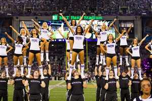 The Ravens' cheerleading squad has 20 members on the dance team and 39 members on the stunt team.