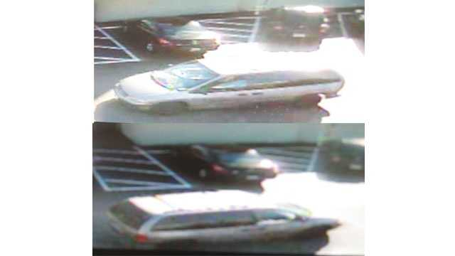Anne Arundel County police said they are looking for this vehicle surrounding persons of interest in a Glen Burnie theft.