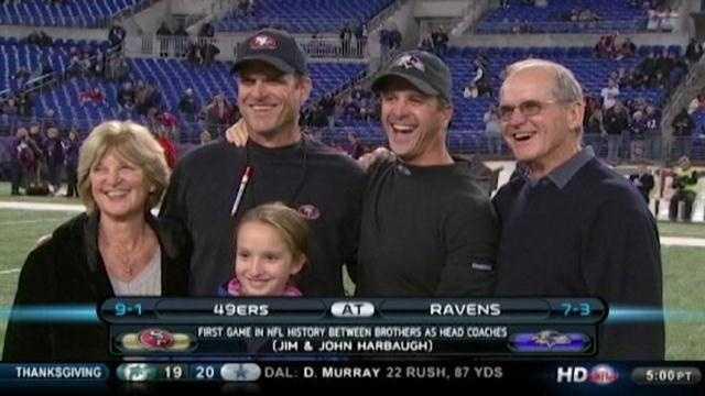 Harbaugh family