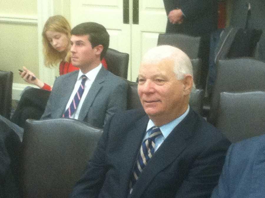 U.S. Sen. Ben Cardin visits Annapolis.