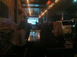 Canton on Super Bowl night.