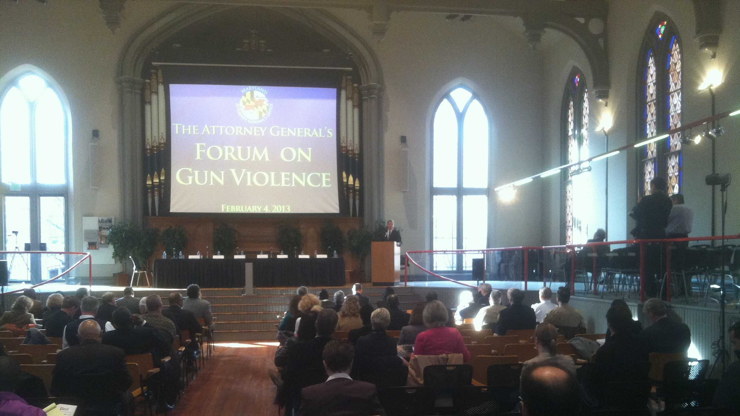 gun violence forum