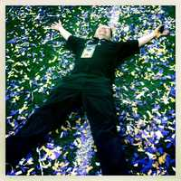 Executive producer Chris Dachille basks in the glory of the Super Bowl win.