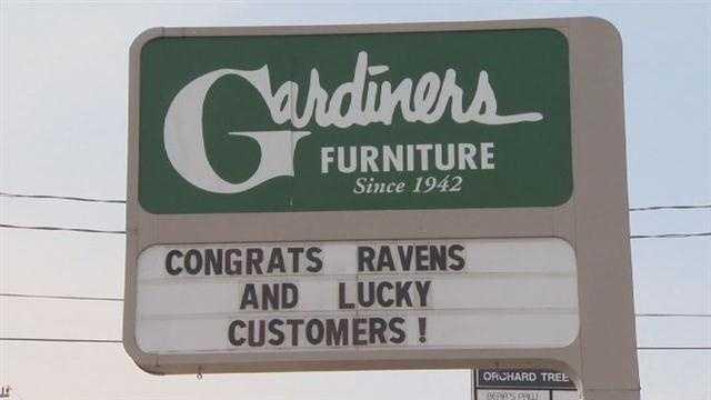 Ravens Punt Return Leads To $600K Furniture Giveaway