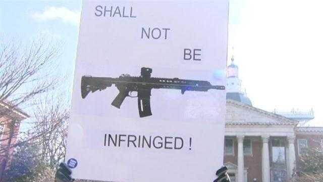 Gun activists rally at Annapolis