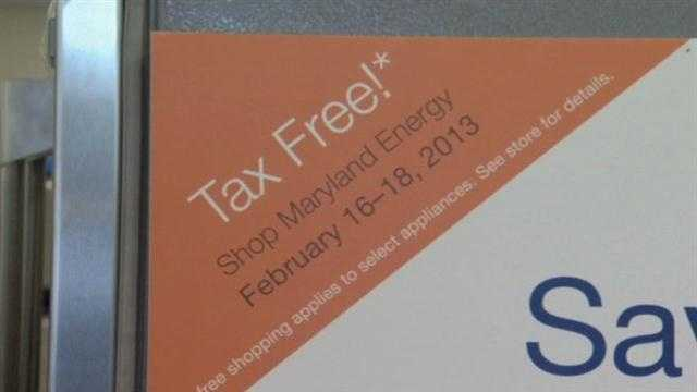 Md. set for tax-free Energy Star weekend