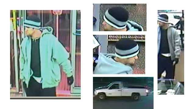 Anne Arundel County police are looking for a robber who struck at a Wawa store in Glen Burnie.