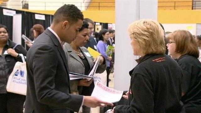 Once a year, more than a dozen Maryland colleges and universities team up to try to help new graduates get on the payroll.
