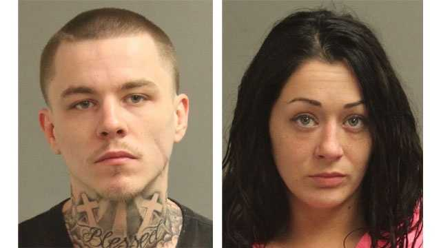 Police said Patrick Thomas Craig, 24, and Tessa Day Campbell, 26, were arrested and face drug-related charges after a drug bust in Glen Burnie.