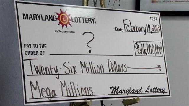 Maryland Lottery officials said someone bought a winning Mega Millions ticket at a store in Mount Airy, Frederick County.