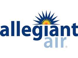 Allegiant Air ranks eighth with $62,500in baggage fees.