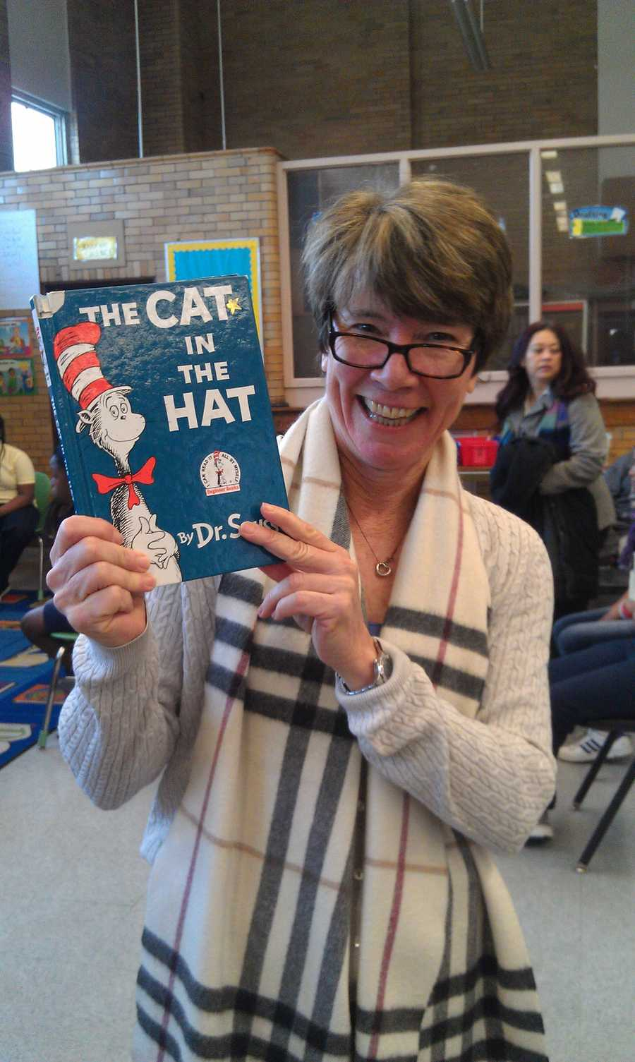 I-Team lead investigative reporter Jayne Miller joins the Baltimore community and others across America to read to schoolchildren Friday as part of Read Across America Day.