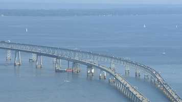 The Chesapeake Bay: The largest body of water in Maryland is the Chesapeake Bay, but we also have nearly 50 rivers and creeks, plus streams, lakes, ponds and the Atlantic Ocean. These waterways have been sources of food, employment, transportation and recreation for many centuries. -- Maryland Tourism